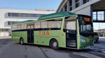 ARPA TUA Roma L'Aquila autobus