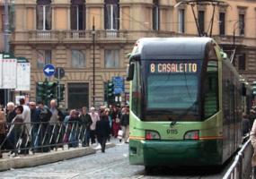 Tram 8 Roma