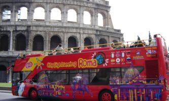 Bus turistici Roma
