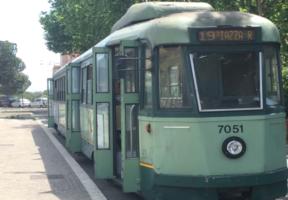 Tram 19 Roma